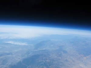 JHAB 1 - Now floating at its highest point of 111K feet
