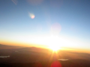 Sunrise over California from High Altitude Balloon - JHAB2